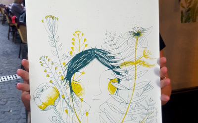 Atelier sérigraphie en image